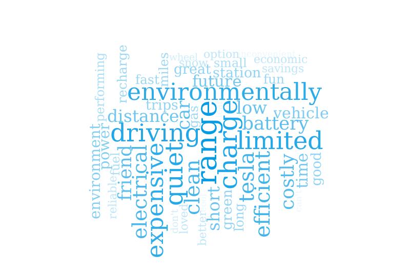 EV Word Associations