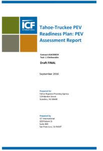 Tahoe-Truckee Plug-in Electric Vehicle Assessment